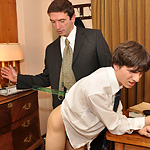 School principal fucks twink in his office